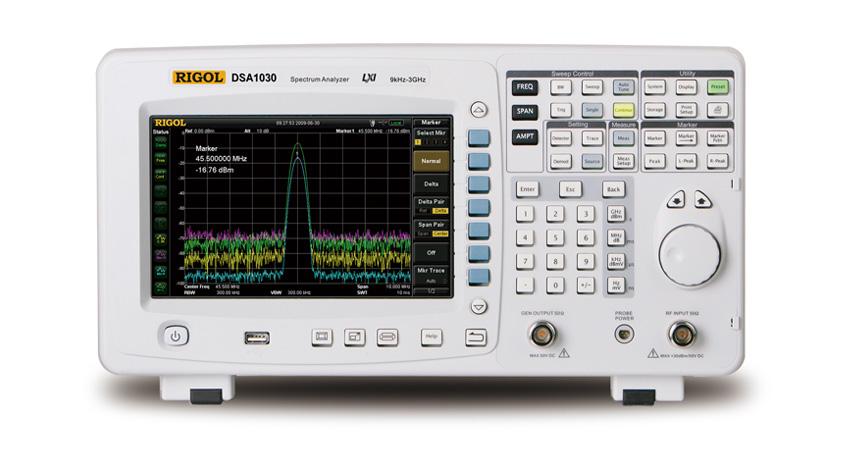 DSA875频谱分析仪